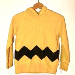 VTG Gap x Peanuts Charlie Brown Sweatshirt Hoodie
